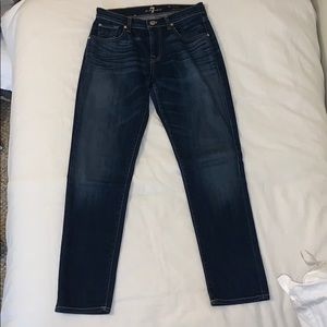 """7 For All Mankind"" Relaxed Skinny Jeans"